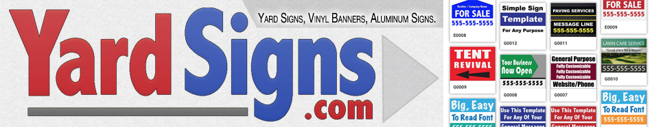 Check Out YardSigns.com